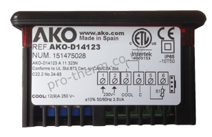 Ako D14123 1 Relay Refrigeration Control Thermostat
